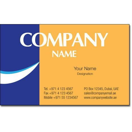 Business Card BC 0154
