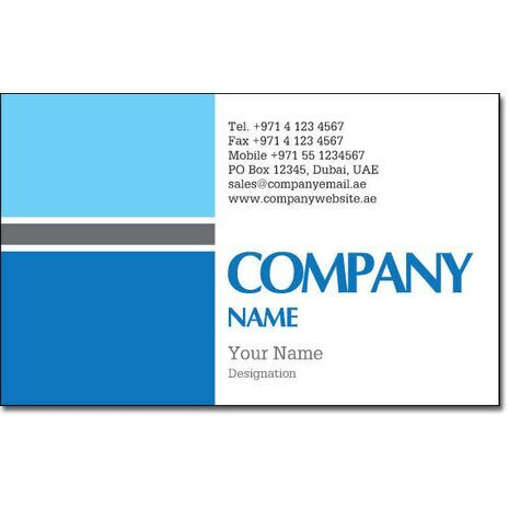 Business Card BC 0160