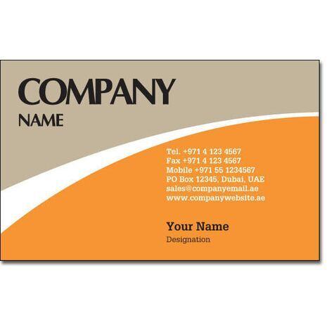 Business Card BC 0161