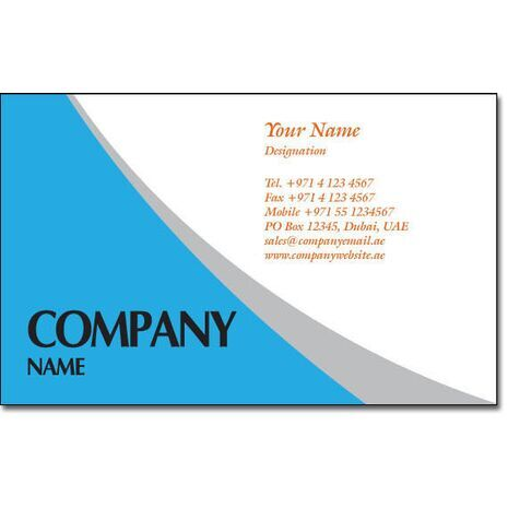Business Card BC 0163