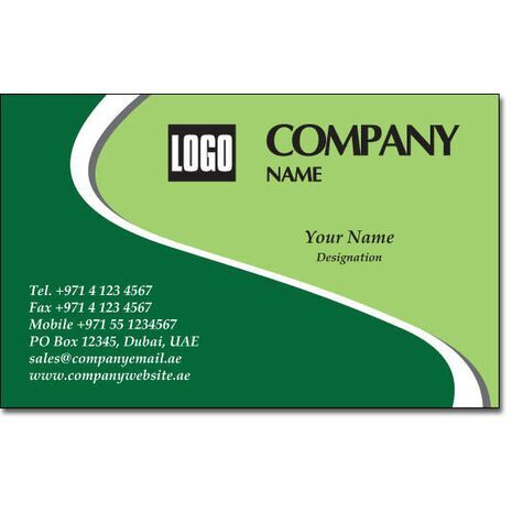 Business Card BC 0167