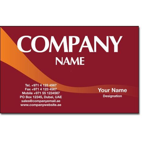 Business Card BC 0168
