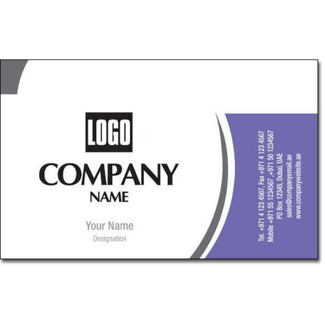 Business Card BC 0182