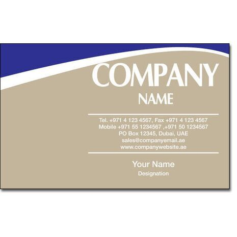 Business Card BC 0183