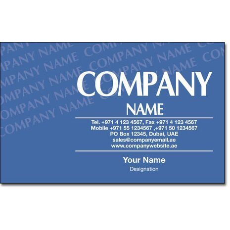 Business Card BC 0185