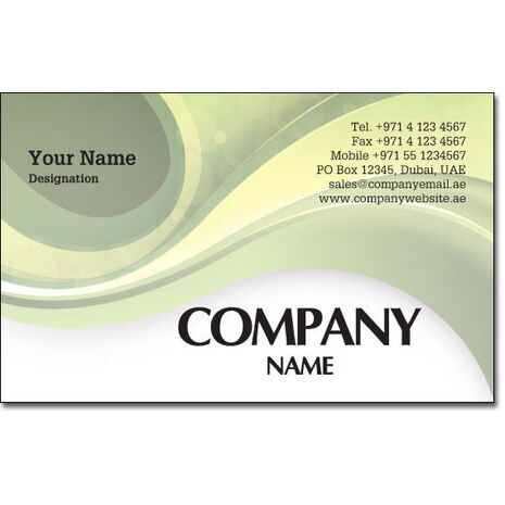 Business Card BC 0186