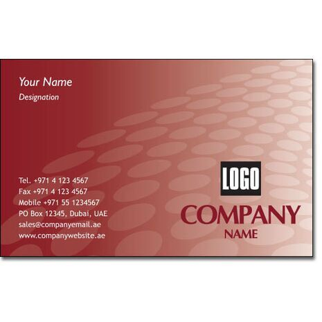 Business Card BC 0187