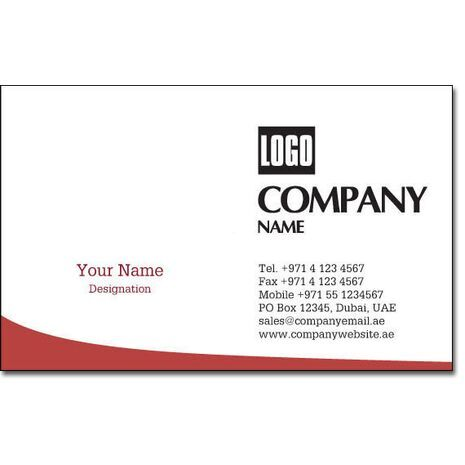 Business Card BC 0197