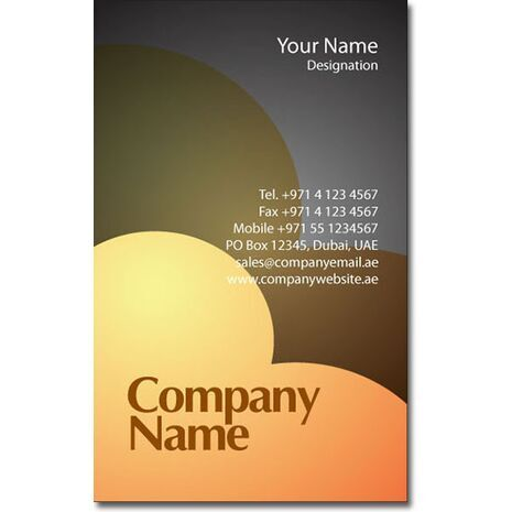 Business Card BC 0255
