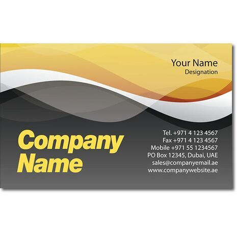 Business Card BC 0284