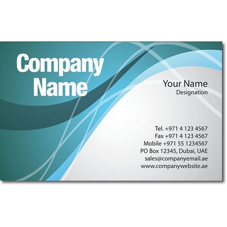 Business Card BC 0292