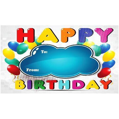 Birthday Gift Tag BGT 0009