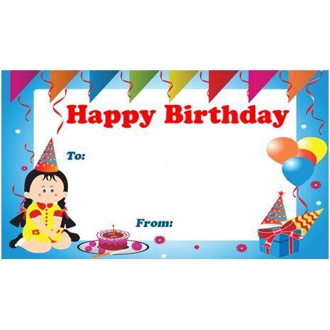 Birthday Gift Tag BGT 0010