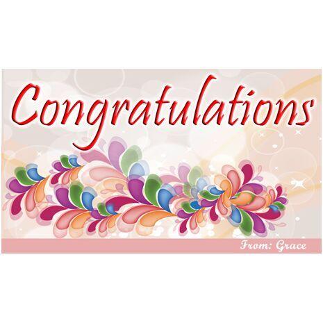 Congratulations Gift Tag C GT 0606
