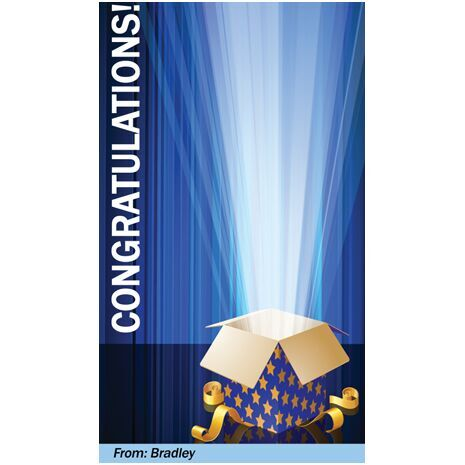 Congratulations Gift Tag C GT 0608
