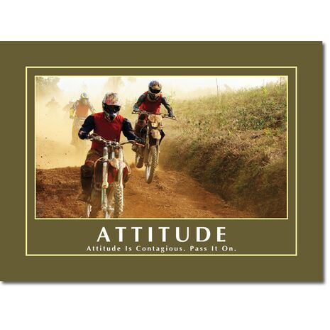 Motivational Print Attitude MP AT 001