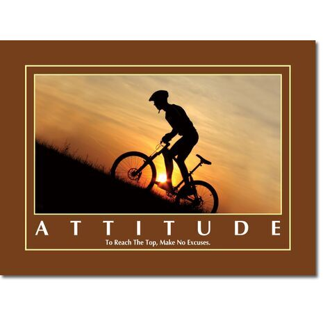 Motivational Print Attitude MP AT 004