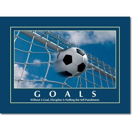 Motivational Print Goals MP GO 1101