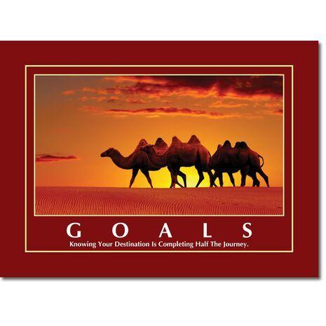 Motivational Print Goals MP GO 1102