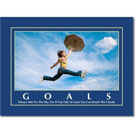 Motivational Print Goals MP GO 1104