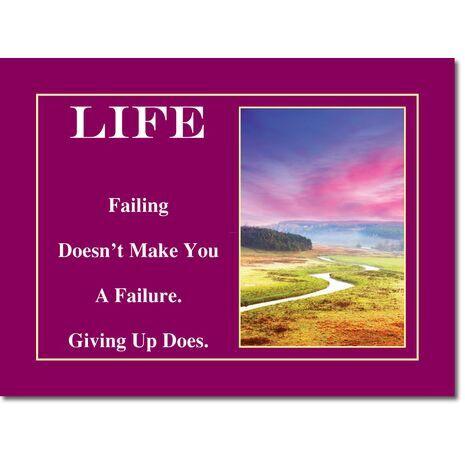 Motivational Print Life MP LI 0001