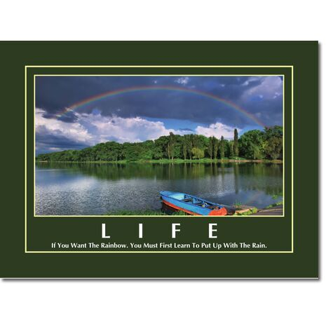 Motivational Print Life MP LI 0012