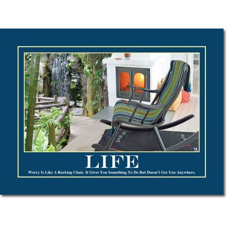 Motivational Print Life MP LI 0014