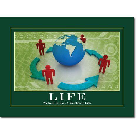 Motivational Print Life MP LI 0015