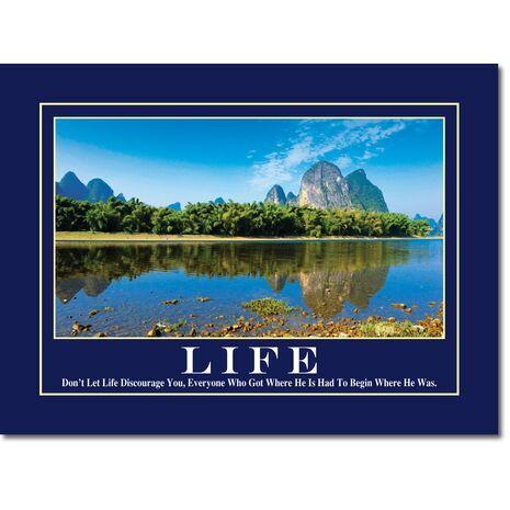 Motivational Print Life MP LI 0016