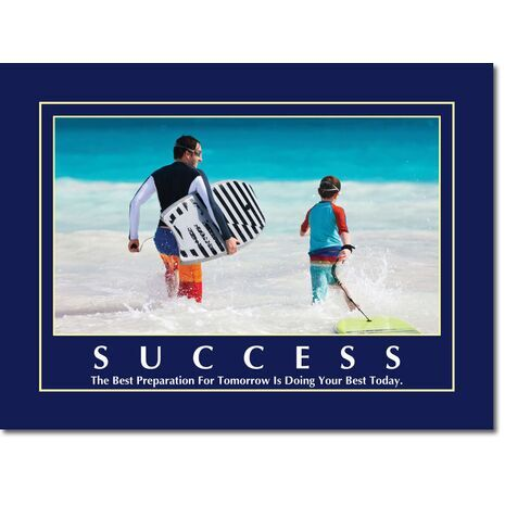 Motivational Print Success MP SU 1110