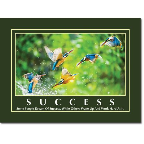 Motivational Print Success MP SU 1111
