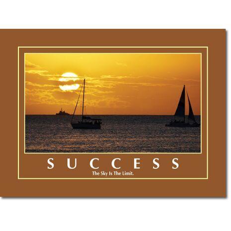 Motivational Print Success MP SU 1116