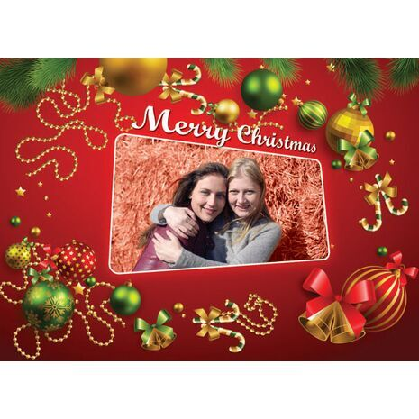 Personalised Christmas Card 001