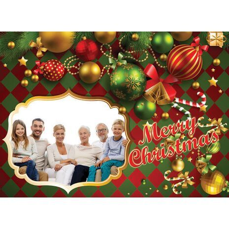 Personalised Christmas Card 002