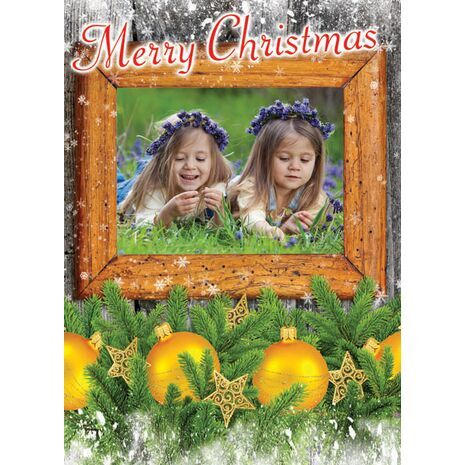Personalised Christmas Card 005