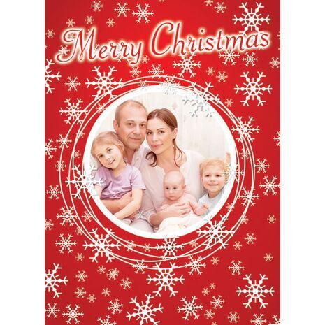 Personalised Christmas Card 006
