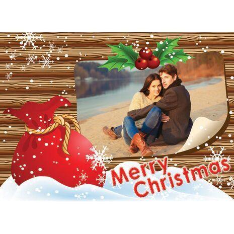 Personalised Christmas Card 007