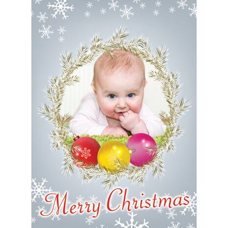 Personalised Christmas Card 010
