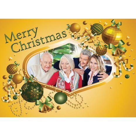 Personalised Christmas Card 012