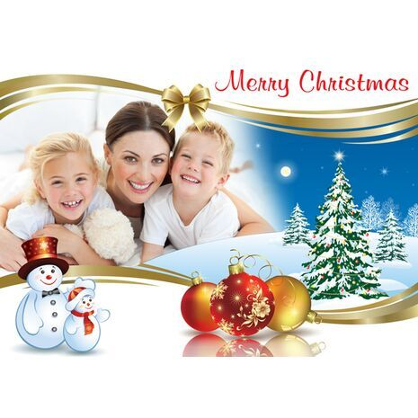 Personalised Christmas Card 019