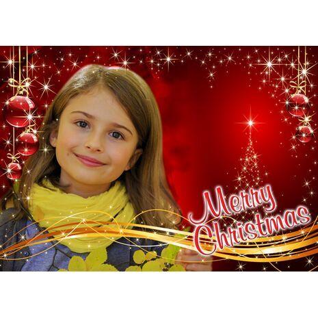Personalised Christmas Card 023