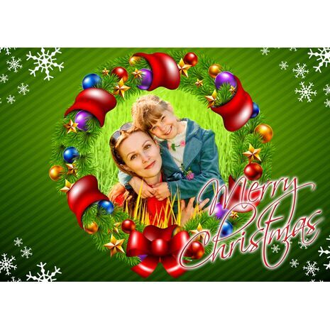 Personalised Christmas Card 025