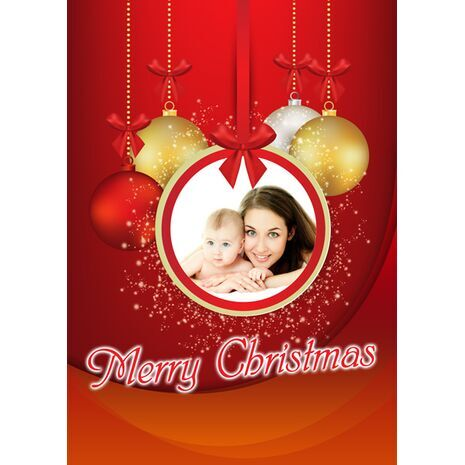 Personalised Christmas Card 026
