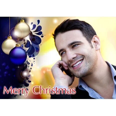 Personalised Christmas Card 031