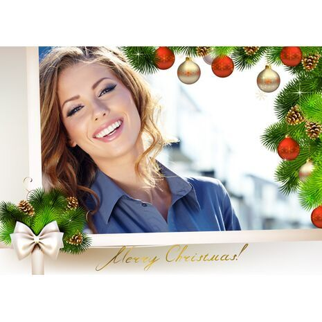 Personalised Christmas Card 034