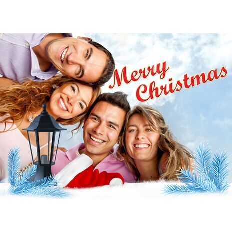 Personalised Christmas Card 036