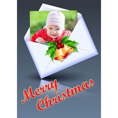 Personalised Christmas Card 038