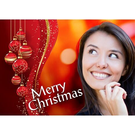 Personalised Christmas Card 039
