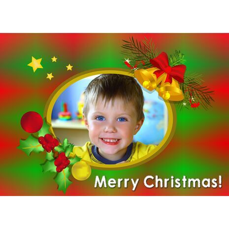 Personalised Christmas Card 042