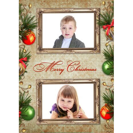 Personalised Christmas Card 045